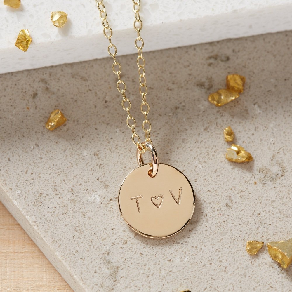 Gold I Love You Necklace