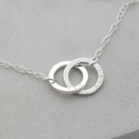 Linked by Love Silver Bracelet