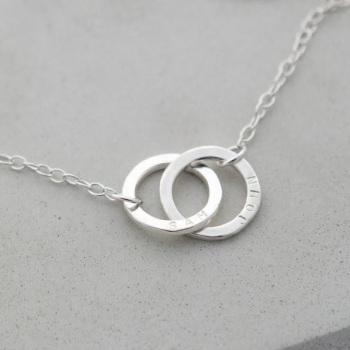 Linked by Love Personalised Bracelet