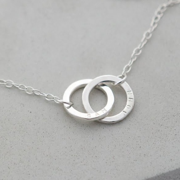 Linked by Love Personalised Necklace