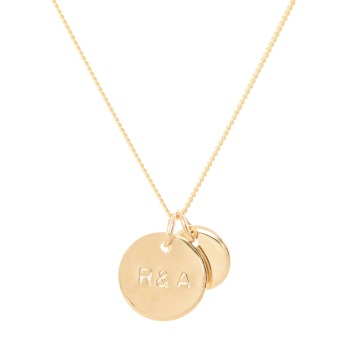 Gold Petite Family Necklace