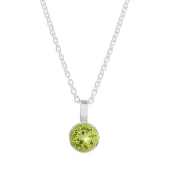 Solo Peridot Necklace