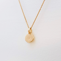 Tiny Sunshine Gold Necklace