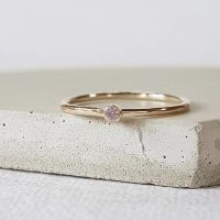 Ethical Whisper Pink Sapphire Ring