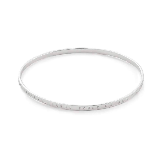Delicate Sterling Silver Stacking Bangle