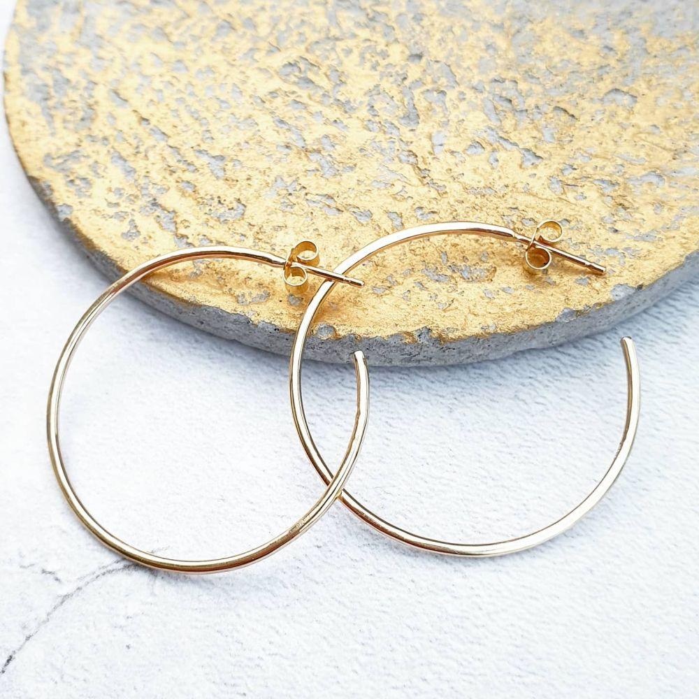 Perfect Gold Hoop Earrings