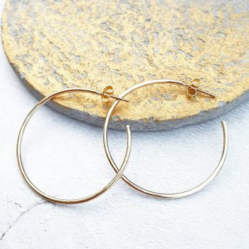 Perfect Gold Hoop Earrings