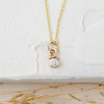 Luce Ethical Diamond Necklace