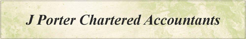 J Porter Chartered Accountants, site logo.