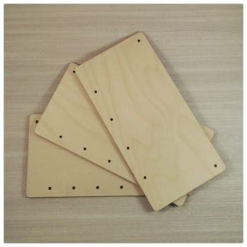 Laser Cut Plaques - Holes at the Bottom - 0205