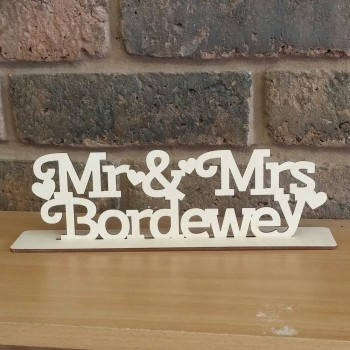 Mr & Mrs Stand With Surname