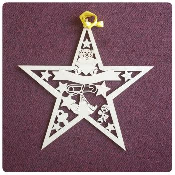 Gorgeous Laser Cut Baby Star - 0022