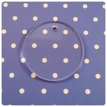 Acrylic Blank Circle