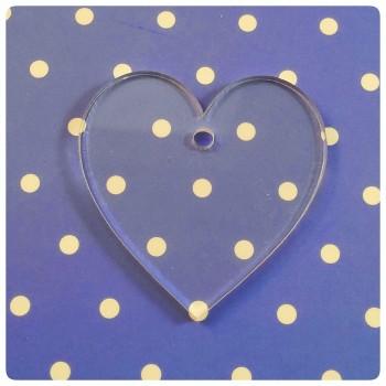 Acrylic Blank Heart