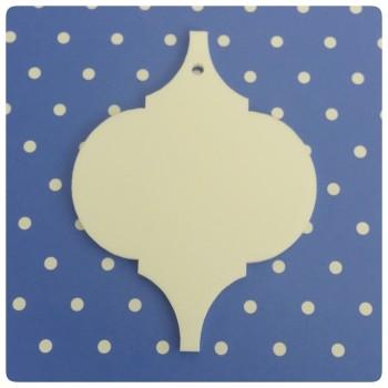 Acrylic Blank Ornament - 0186