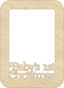 Baby's First Christmas Photo Frames - 0125
