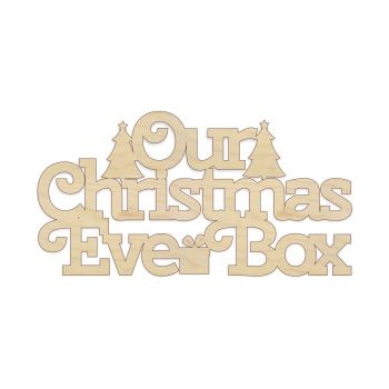 My/Our Christmas Eve Box Topper - 0078