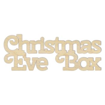 Christmas Eve Box Topper - 0090
