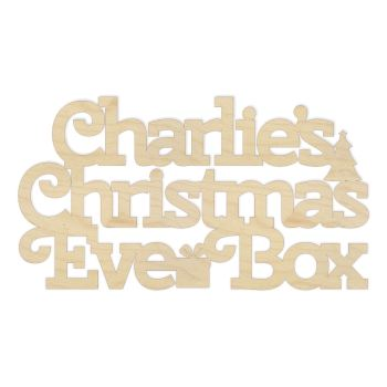Personalised Christmas Eve Box Topper - 0070