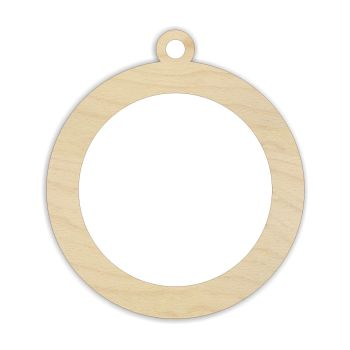 Laser Cut Blank Ring Bauble - 0117