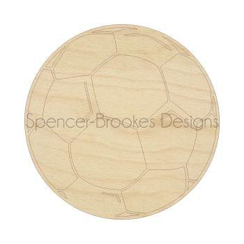 Laser Cut Football Shapes - 0135