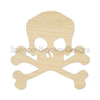 Laser Cut Skull Shapes - 0040