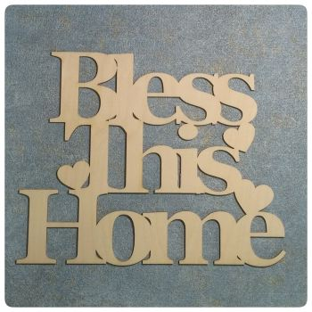 Bless This House Plaque - 0136