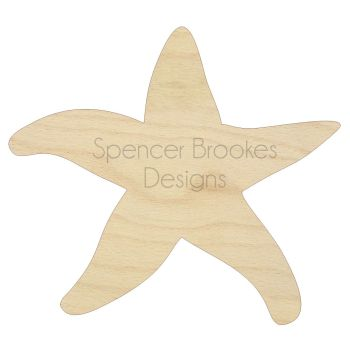 Laser Cut Starfish - 0028