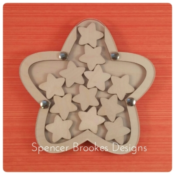 Star Shape Reward Jar - 5 Pack