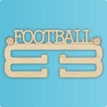 Football Medal Hanger - DOUBLE HANGER