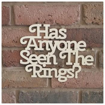Has Anyone Seen The Rings? - 0315