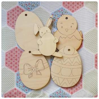 Easter Tags - Hangers Perfect for Easter Egg Hunts