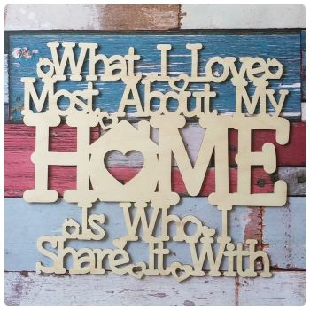 What I Love Most About My Home - 0330