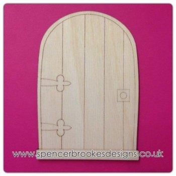 10 PACK - Laser Cut Fairy Door (single door) - 0153