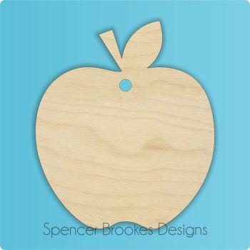 Blank Apple Shape