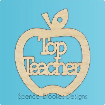 Top Teacher Cutout