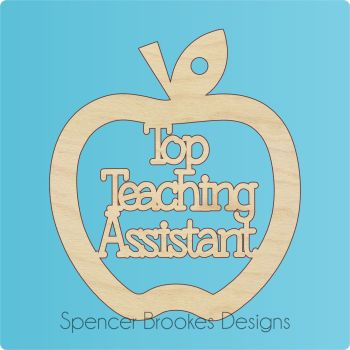 Top Teaching Assistant Cutout