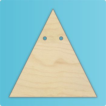 Triangle Bunting (Point Upwards) - 0273