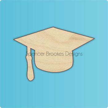 Graduation Cap Cutout - 0260