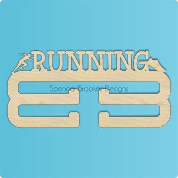 Running Medal Hanger - DOUBLE HANGER - 0256