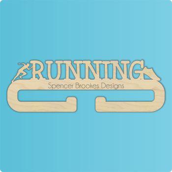 Running Medal Hanger - Single Hanger - 0255
