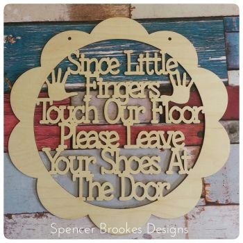 Since Lifttle Fingers Touch Our Floor - 0439