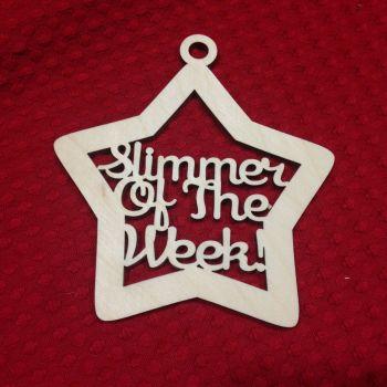 Slimmer of the Week Hanger