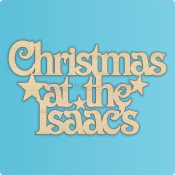 Christmas At The SURNAME - Victorian Font - 0070