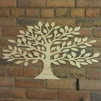 Large 40x70cm Tree Guestbook - 0437