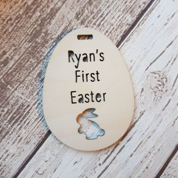 Baby's First Easter - Easter Egg Tag - 0361