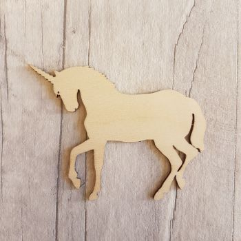 Laser Cut Full Body Unicorn Shape - 0395