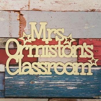 Teacher Classroom Sign - 0426