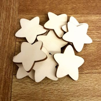 **SPECIAL OFFER** 10 Pack of 3cm Baby Stars