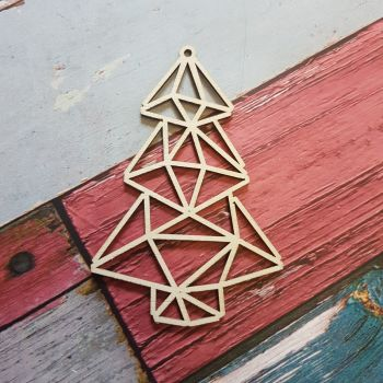 Geometric Christmas Tree - 0451